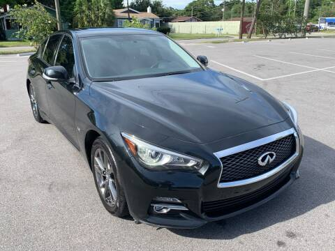 2017 Infiniti Q50 for sale at Consumer Auto Credit in Tampa FL