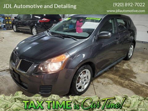 2009 Pontiac Vibe for sale at JDL Automotive and Detailing in Plymouth WI