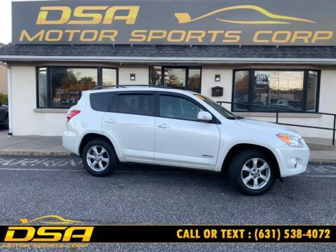 2011 Toyota RAV4 for sale at DSA Motor Sports Corp in Commack NY