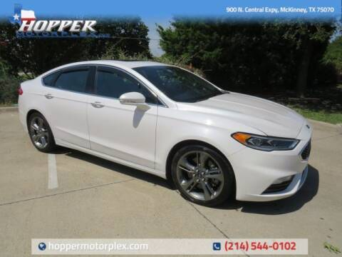 2017 Ford Fusion for sale at HOPPER MOTORPLEX in Mckinney TX