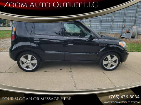 2010 Kia Soul for sale at Zoom Auto Outlet LLC in Thorntown IN