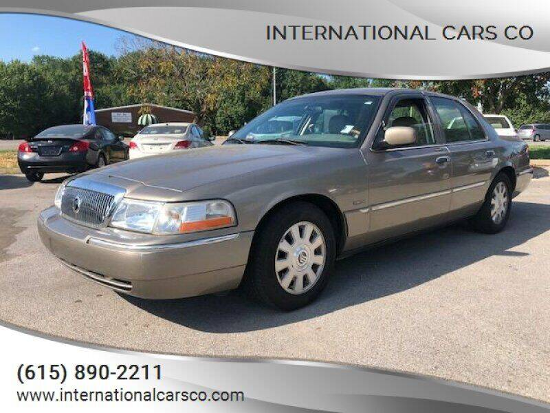 2004 Mercury Grand Marquis for sale at International Cars Co in Murfreesboro TN