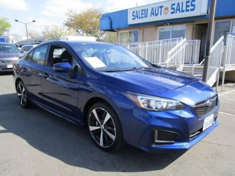 2017 Subaru Impreza for sale at Salem Auto Sales in Sacramento CA