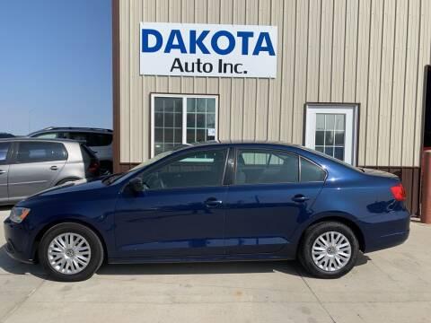 2013 Volkswagen Jetta for sale at Dakota Auto Inc. in Dakota City NE
