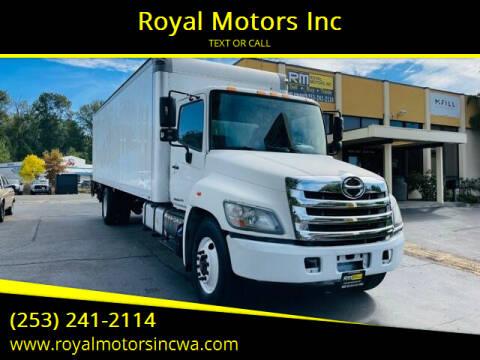 2011 Hino 338 for sale at Royal Motors Inc in Kent WA