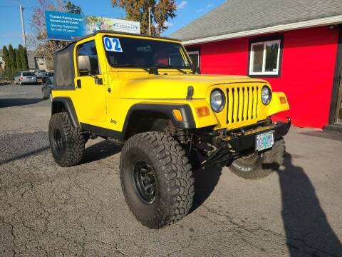 2002 Jeep Wrangler for sale at Universal Auto Sales in Salem OR