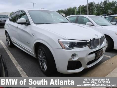 2017 BMW X4 for sale at Carol Benner @ BMW of South Atlanta in Union City GA
