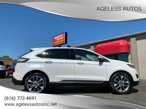2017 Ford Edge for sale at Ageless Autos in Zeeland MI
