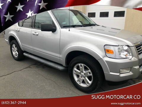 2010 Ford Explorer for sale at Sugg Motorcar Co in Boyertown PA