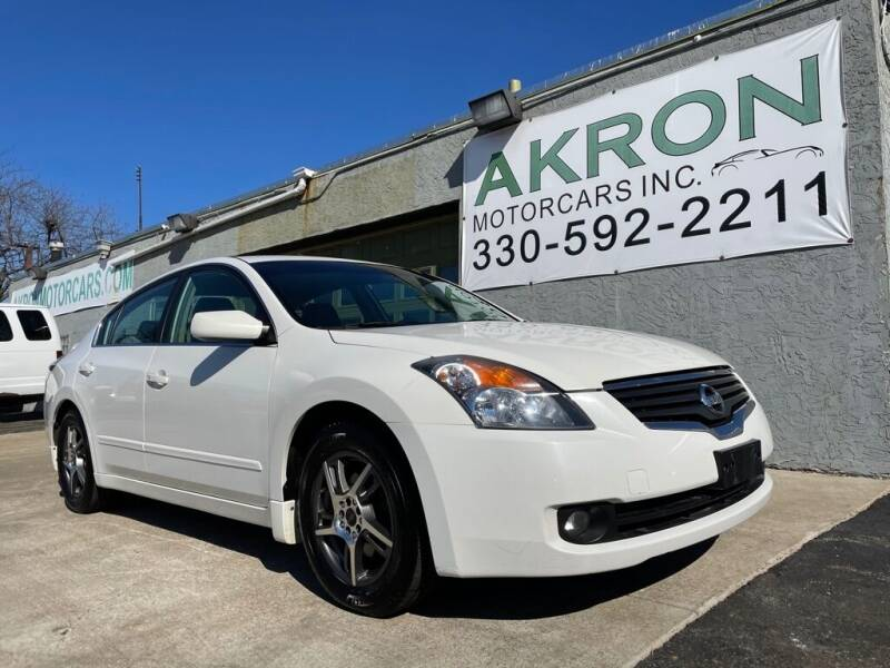 2007 Nissan Altima for sale at Akron Motorcars Inc. in Akron OH