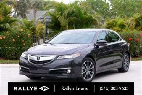 2015 Acura TLX for sale at RALLYE LEXUS in Glen Cove NY