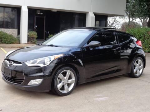2014 Hyundai Veloster for sale at Auto Starlight in Dallas TX