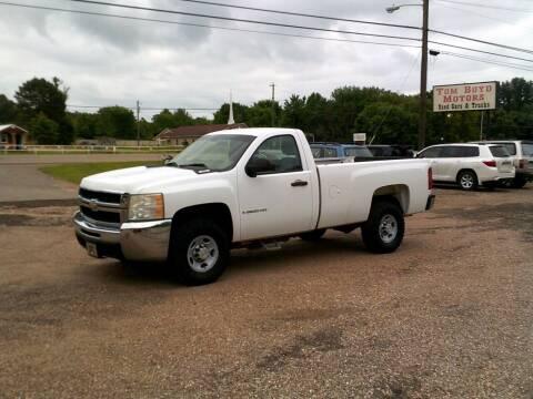 2008 Chevrolet Silverado 2500HD for sale at Tom Boyd Motors in Texarkana TX