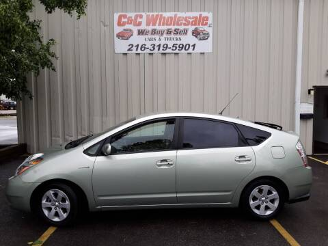 2008 Toyota Prius for sale at C & C Wholesale in Cleveland OH