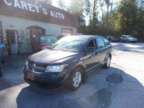 2013 Dodge Journey for sale at Careys Auto Sales in Rutland VT