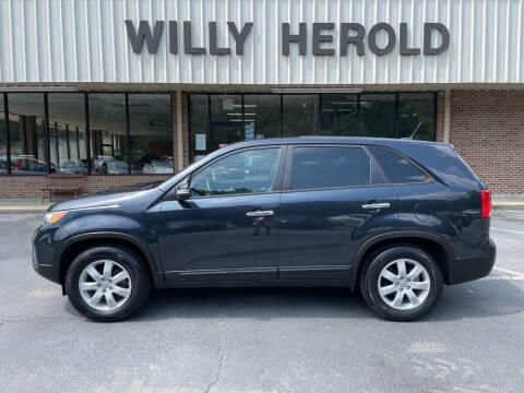 2012 Kia Sorento for sale at Willy Herold Automotive in Columbus GA