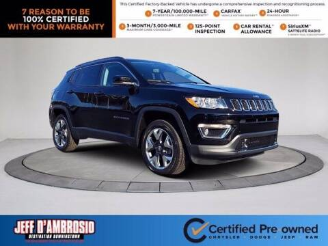 2021 Jeep Compass for sale at Jeff D'Ambrosio Auto Group in Downingtown PA