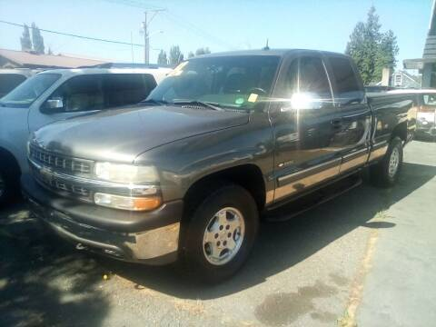 2002 Chevrolet Silverado 1500 for sale at Payless Car & Truck Sales in Mount Vernon WA