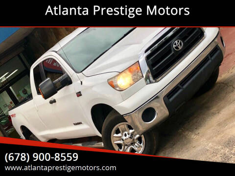 2012 Toyota Tundra for sale at Atlanta Prestige Motors in Decatur GA