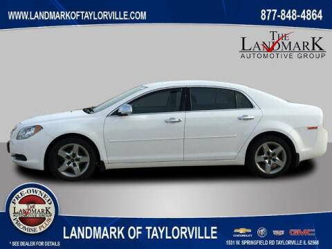 2012 Chevrolet Malibu for sale at LANDMARK OF TAYLORVILLE in Taylorville IL