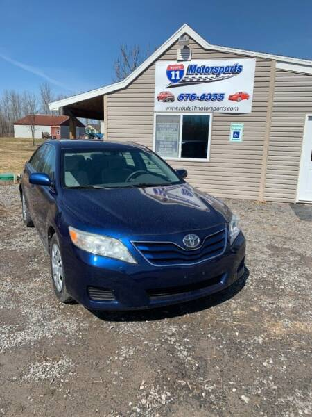 2010 Toyota Camry for sale at ROUTE 11 MOTOR SPORTS in Central Square NY