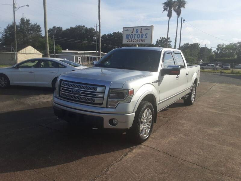 2014 Ford F-150 for sale at J & L Motors in Pascagoula MS