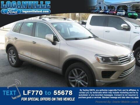 2016 Volkswagen Touareg for sale at Loganville Quick Lane and Tire Center in Loganville GA