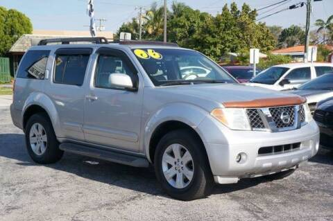 2006 Nissan Pathfinder for sale at Prado Auto Sales in Miami FL