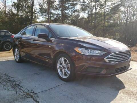 2018 Ford Fusion Hybrid for sale at Southeast Autoplex in Pearl MS