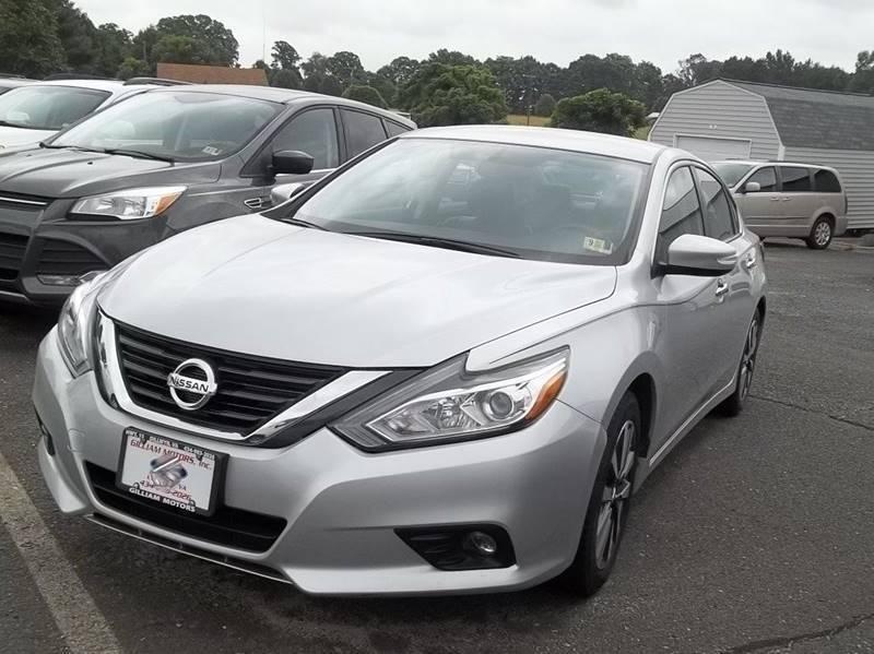 2017 Nissan Altima for sale at Gilliam Motors Inc in Dillwyn VA
