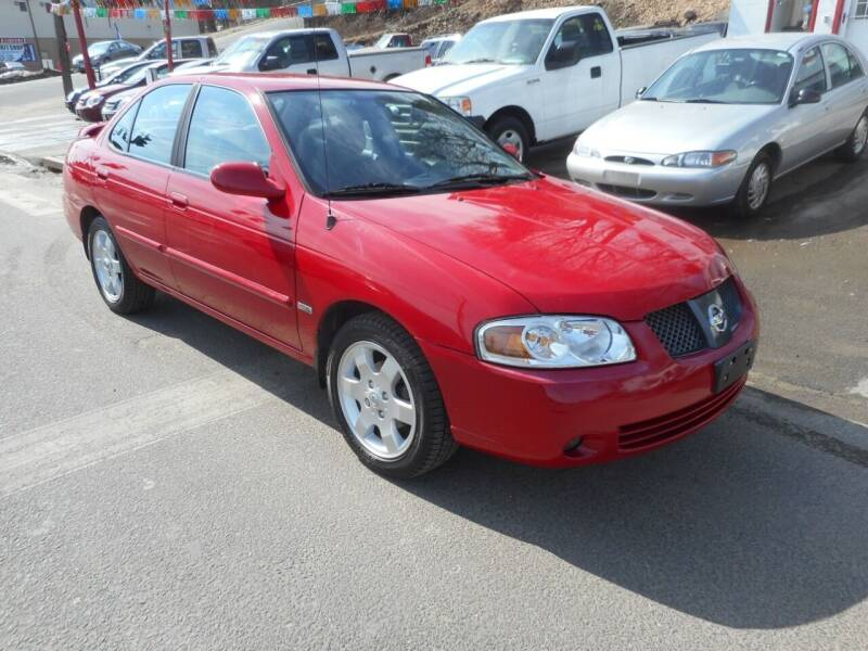 2006 Nissan Sentra for sale at Ricciardi Auto Sales in Waterbury CT
