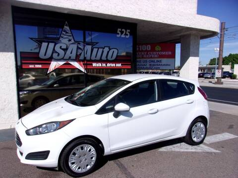 2016 Ford Fiesta for sale at USA Auto Inc in Mesa AZ
