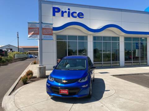 2019 Chevrolet Bolt EV for sale at Price Honda in McMinnville in Mcminnville OR