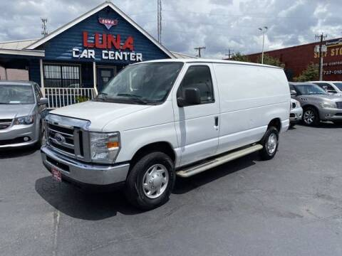 2013 Ford E-Series Cargo for sale at LUNA CAR CENTER in San Antonio TX