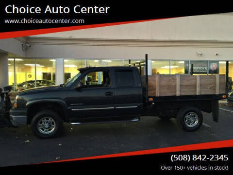 2003 Chevrolet Silverado 2500HD for sale at Choice Auto Center in Shrewsbury MA