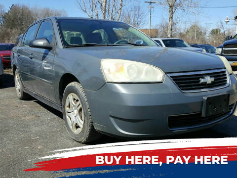 2007 Chevrolet Malibu for sale at GLOVECARS.COM LLC in Johnstown NY