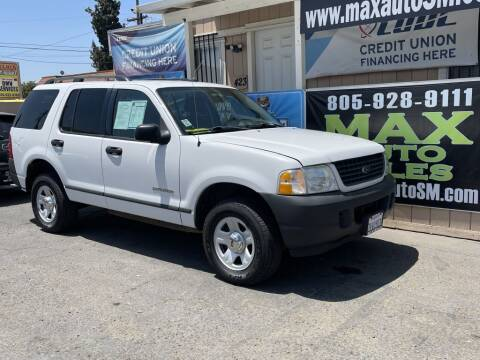 2004 Ford Explorer for sale at Max Auto Sales in Santa Maria CA