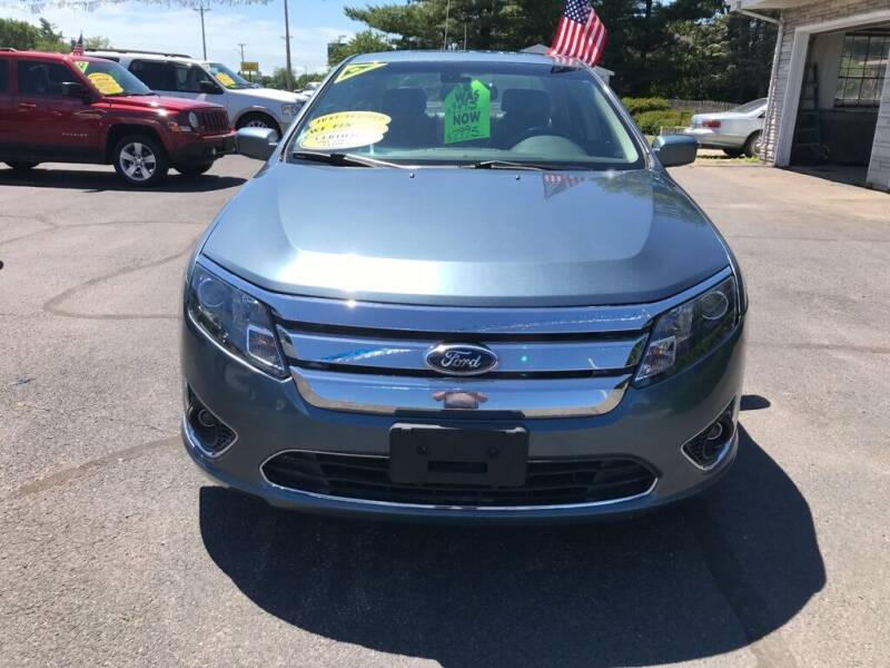 2012 Ford Fusion for sale in Wheatfield, IN