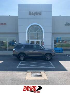 2018 Toyota 4Runner for sale at Bayird Truck Center in Paragould AR