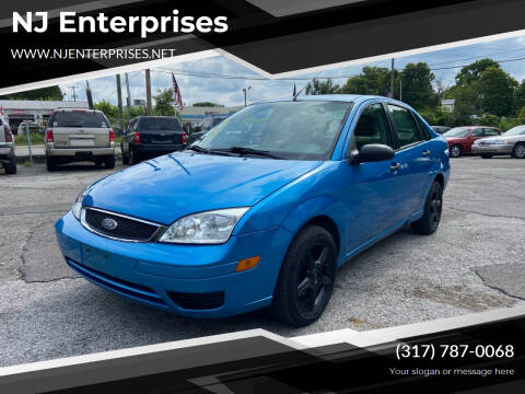 2007 Ford Focus for sale at NJ Enterprises in Indianapolis IN