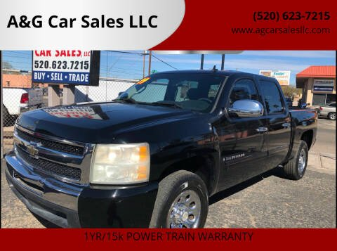 2009 Chevrolet Silverado 1500 for sale at A&G Car Sales  LLC in Tucson AZ