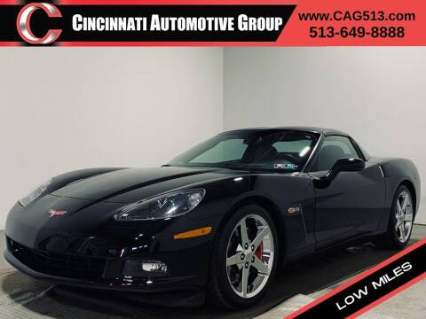 2005 Chevrolet Corvette for sale at Cincinnati Automotive Group in Lebanon OH