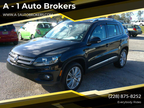 2014 Volkswagen Tiguan for sale at A - 1 Auto Brokers in Ocean Springs MS