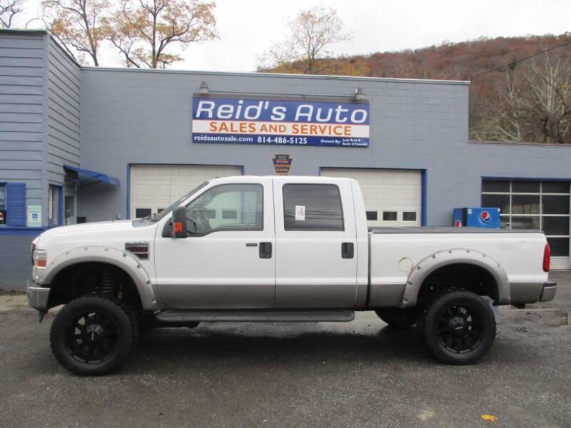 2008 Ford F-350 Super Duty for sale at Reid's Auto Sales & Service in Emporium PA