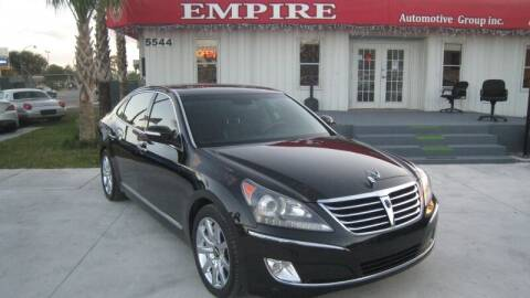 2013 Hyundai Equus for sale at Empire Automotive Group Inc. in Orlando FL