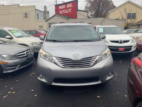 2015 Toyota Sienna for sale at Park Avenue Auto Lot Inc in Linden NJ