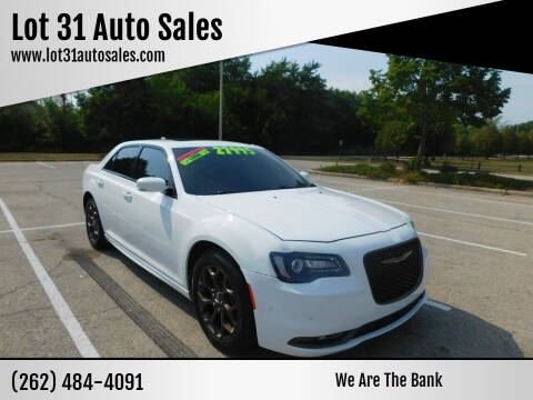 2016 Chrysler 300 for sale at Lot 31 Auto Sales in Kenosha WI