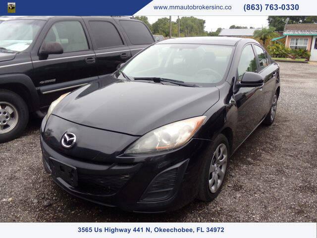 2011 Mazda MAZDA3 for sale at M & M AUTO BROKERS INC in Okeechobee FL