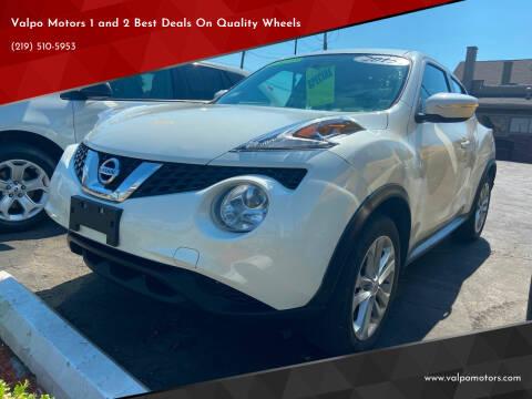 2015 Nissan JUKE for sale at Valpo Motors Inc. in Valparaiso IN