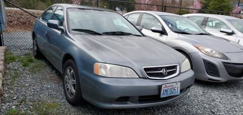 2000 Acura TL for sale at LKL Motors in Puyallup WA